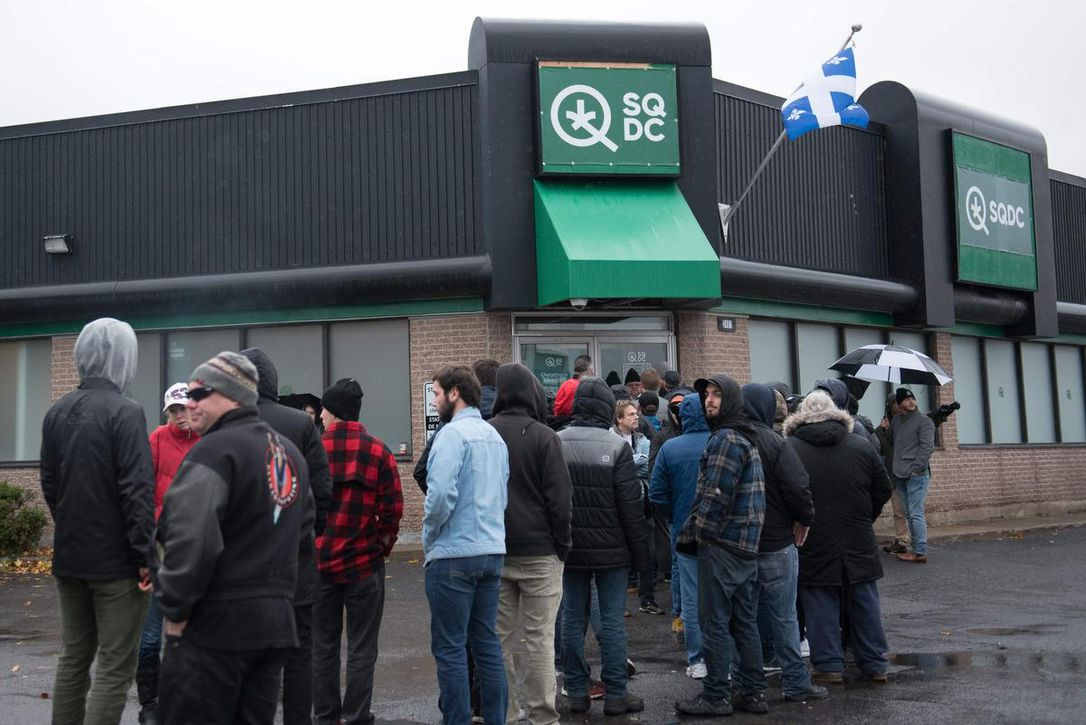 Quebec Cannabis Stores to be open later